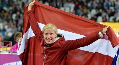 Paraolimpiete Dadzīte kļūst par Eiropas čempioni diska mešanā
