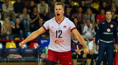 """Buivids ar 19 punktiem sekmē """"Lindaren Volley"""" iekļūšanu Izaicinājuma kausa 1/16 finālā"""