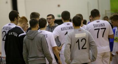 U-20 handbolisti uzsākuši gatavošanos Eiropas čempionātam