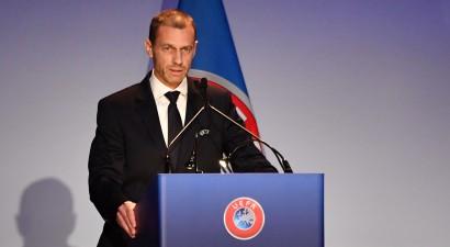UEFA par optimistiskāko scenāriju nosauc futbola sezonas atsākšanos maija vidū
