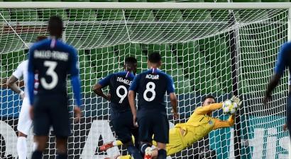 Francijas U21 izlase neiesit divas pendeles, taču izcilā trillerī salauž Angliju