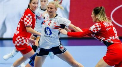 Norvēģija kā pirmā iekļūst EČ handbolā sievietēm pusfinālā