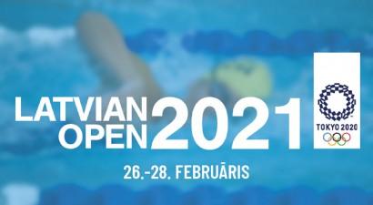"""OS kvalifikācijas sacensības """"Latvian Open 2021"""" pulcē peldēšanas zvaigznes"""