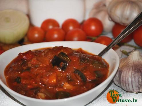 Ratatujs - viens no gardākajiem franču dārzeņu sautējumiem