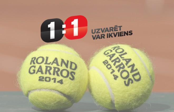 """French Open"" prognožu spēlēs triumfē lietotāji <b>kaapee</b> un <b>Sunny86</b>"