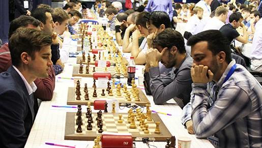 Šahists Kovaļenko pēc zaudējuma EČ noslīd uz 22. vietu