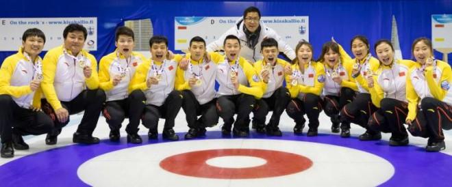 Ķīna dominē pasaules junioru kērlinga čempionāta B divīzijā, Latvijai 5. un 10.vieta