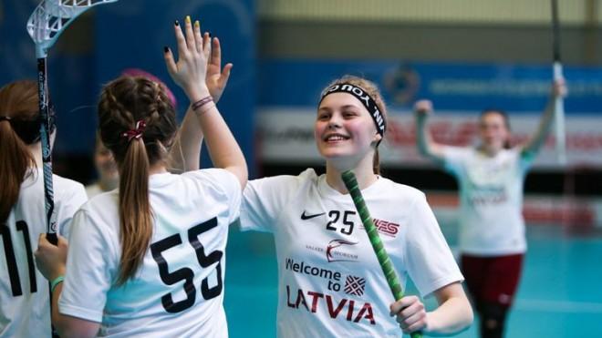 U19 izlases florboliste Rozīte: Izšķirošajā grupas spēlē kārtīgi saņemsimies un uzvarēsim