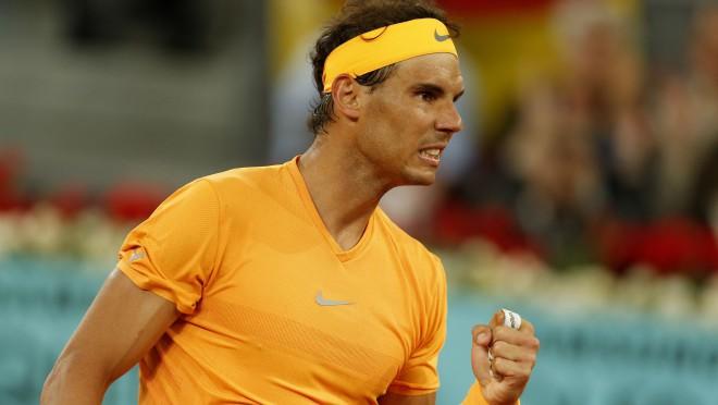 Nadals ar 50 māla setiem pēc kārtas sasniedz jaunu ATP rekordu