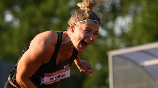 Bukšai personīgais rekords arī 200 metros, šķēpmešanā labākā Palameika