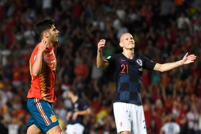 Smagākais zaudējums vēsturē: Spānija pazemo pasaules vicečempioni Horvātiju