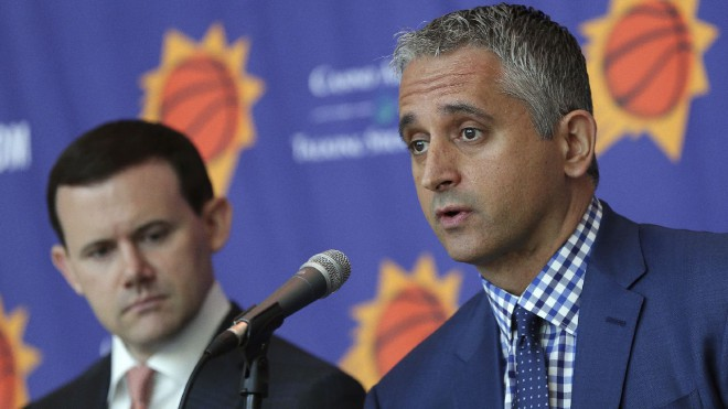 """Suns"" desmit dienas pirms sezonas atlaiž ģenerālmenedžeri Makdono"