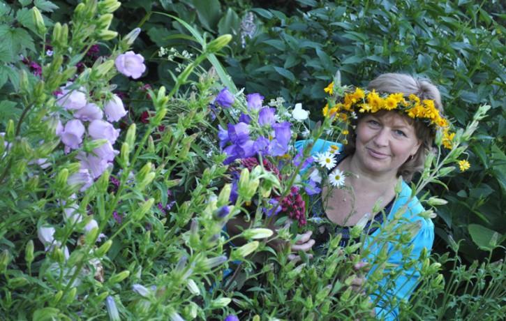 Divpadsmit dārzu maģija.  Zivis un viņu dārzs.  Mans dārzs ir mana paradīze!