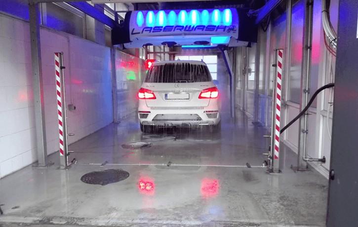 """Darbu uzsākusi Baltijā pirmā bezkontakta automazgātava """"Laserwash 360 Plus"""""""
