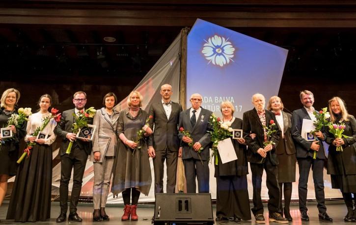 Jūrmala pasniedz Gada balvas kultūrā 2017
