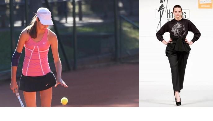 """Ernesta Gulbja māsa Monika: """"Teniss ir tikai hobijs"""""""