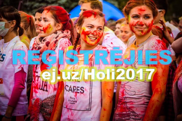 """Nepalaid garām: ,,HOLI krāsu skrējiens"""" notiks Daugavpilī jau otro reizi!"""