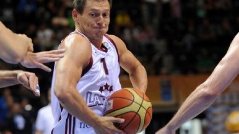 """Latvijas valstsvienības kapteinis Jānis Blūms Foto: Romāns Kokšarovs, """"Sporta Avīze"""", f64"""