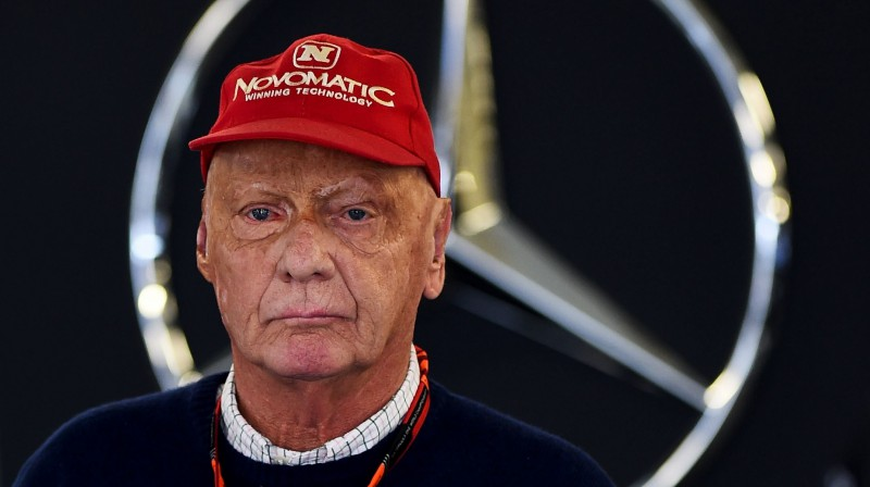 Nikijs Lauda. Foto: GETTY IMAGES NORTH AMERICA/Scanpix