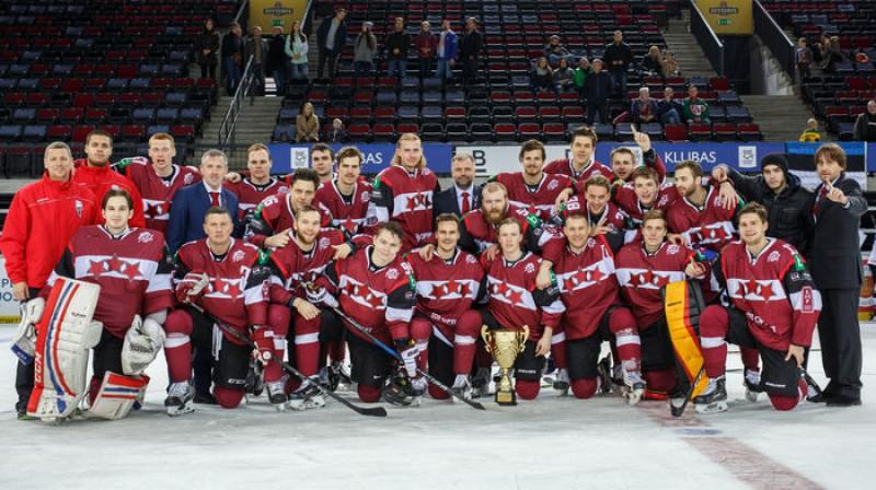 Latvijas izlase Foto: Hockey Lietuva