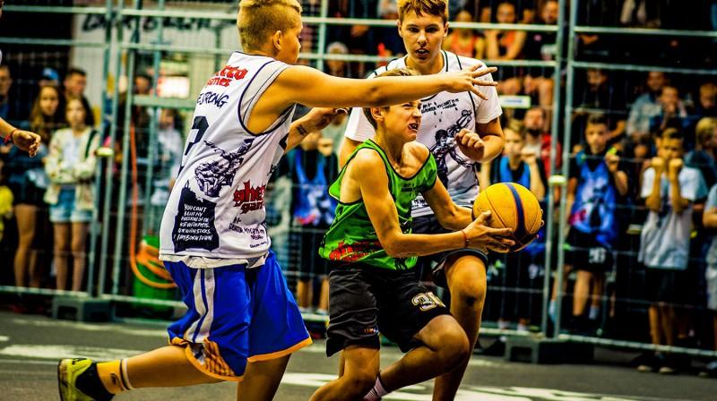 """2017. gada """"Ghetto Basket"""" Superfināls Rīgā, Grīziņkalnā Publicitātes foto"""