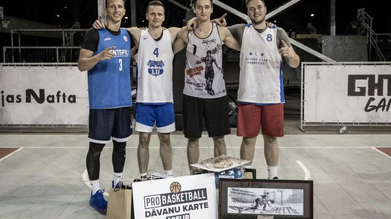 """31. maija """"Ghetto Basket"""" Pro grupas labākā komanda """"Lasmanis"""" Publicitātes foto"""
