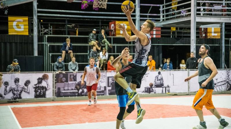 """31. maija """"Ghetto Basket"""" Pro grupas finālā """"Lasmanis"""" pārspēja """"Kraslava Basketbola"""" Publicitātes foto"""