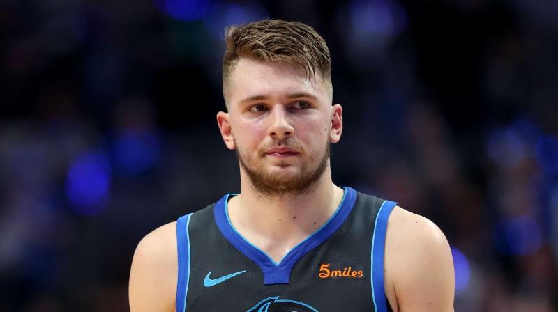 Luka Dončičs. Foto: AFP/Scanpix