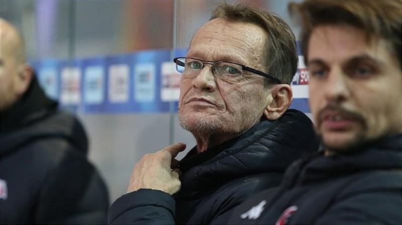 """Znojmo"" galvenais treneris Miroslavs Frečers. Foto: EBEL"