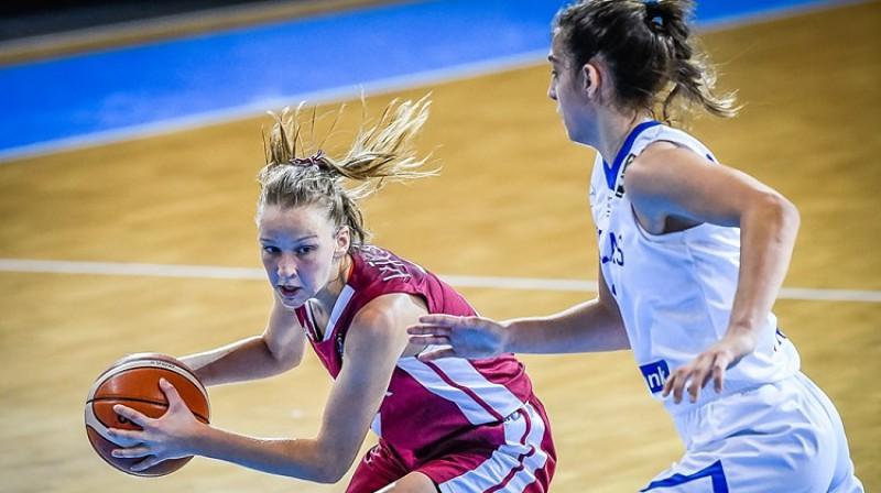 Enija Vīksne. Foto: FIBA