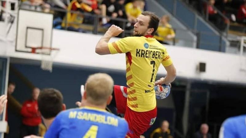 Nils Kreicbergs. Foto: Latvijas Handbola federācija