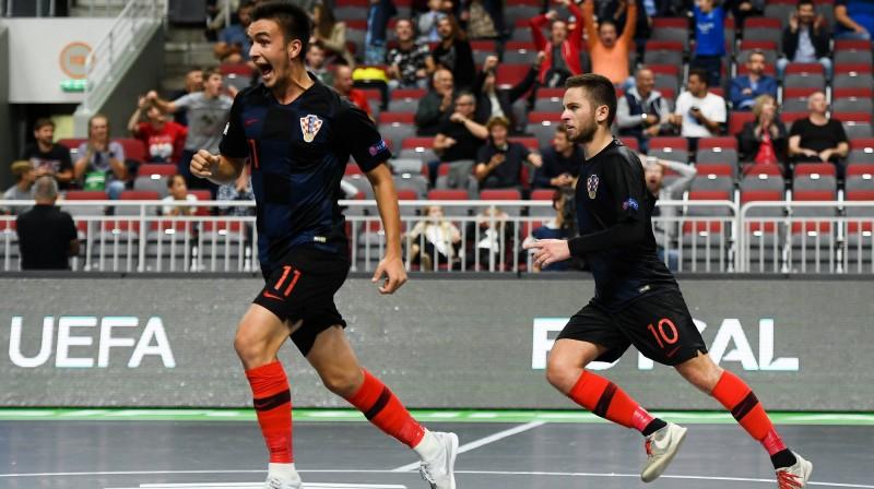 Horvātijas U19 izlases puiši skrien uz finālu / Foto: UEFA.com
