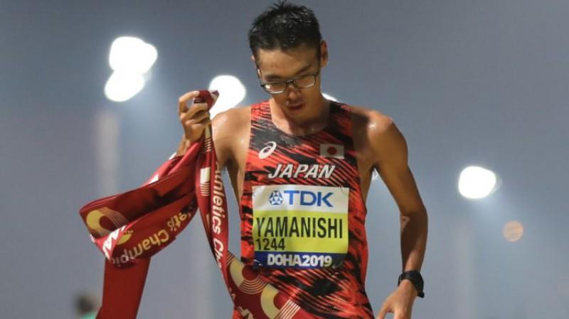 Tošikazu Jamaniši. Foto: AFP/Scanpix
