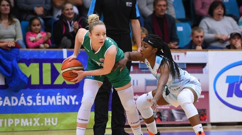 Ilze Jākobsone: 25 punkti, piecas atlēkušās bumbas un trīs piespēles. Foto: FIBA