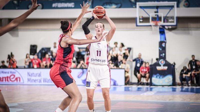 Aija Putniņa: 25 punkti un uzvara Ankaras derbijā. Foto: FIBA