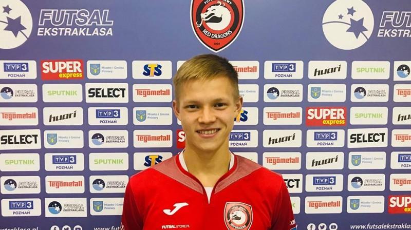 Andrejs Baklanovs. Foto: Red Dragons Pniewy