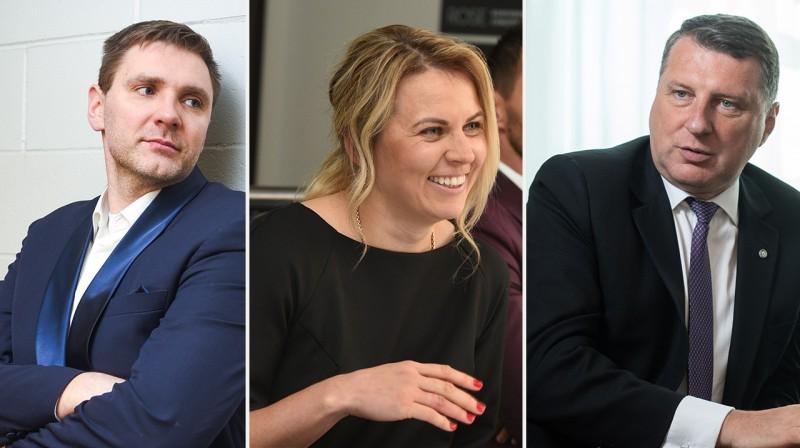 Kaspars Cipruss, Anete Jēkabsone-Žogota, Raimonds Vējonis. Foto: f64