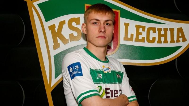 Kristers Tobers. Foto: Lechia.pl