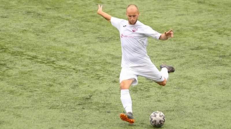 Alans Siņeļņikovs. Foto: FC Lokomotiv Daugavpils