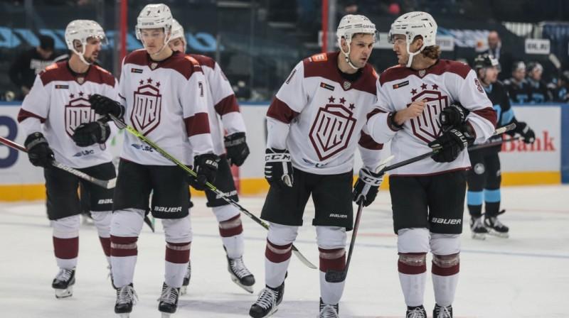 """Rīgas """"Dinamo"""" hokejisti. Foto: dinamoriga.lv"""