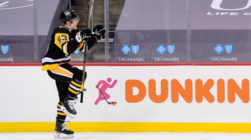Teodors Bļugers. Foto: Pittsburgh Penguins