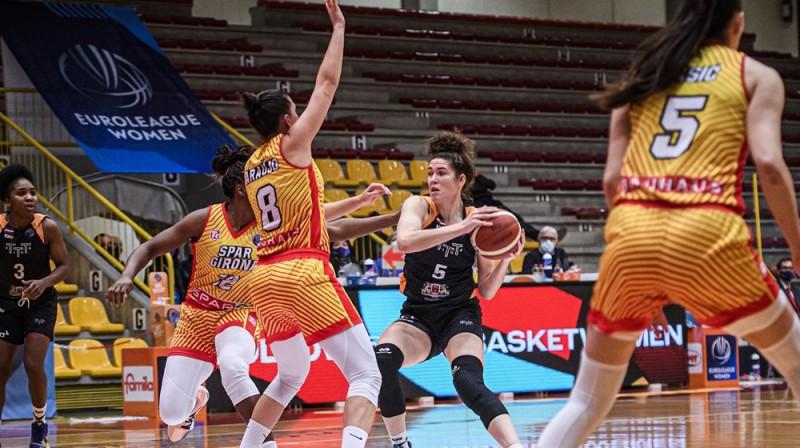 Megana Hafa 2021. gada 19. janvārī. Foto: FIBA