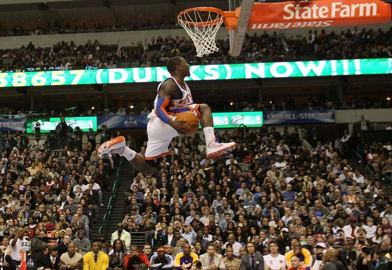 ''Slam dunk'' konkursā atkal uzvar Robinsons