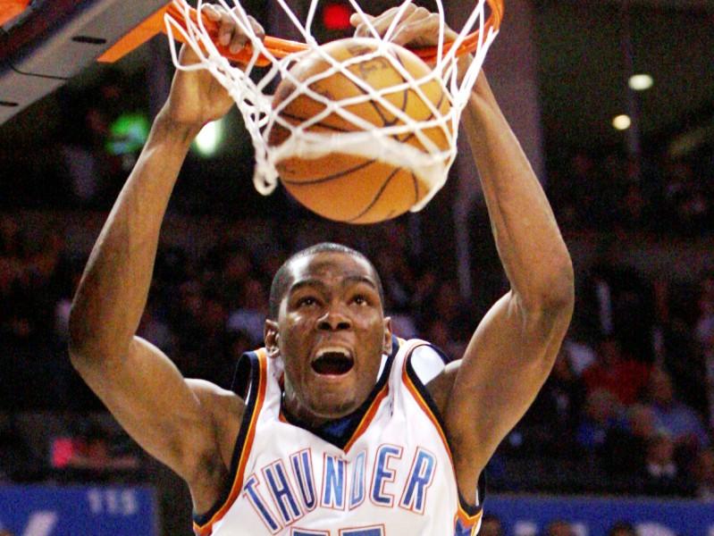 Durants - labākais punktu guvējs NBA