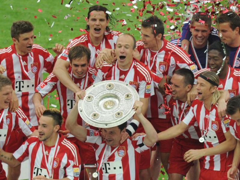 """""""Bayern"""" - Vācijas čempione, Bundeslīgas sezona noslēgusies"""