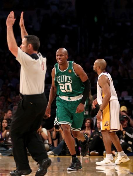 Alenam rekords, ''Celtics'' - uzvara