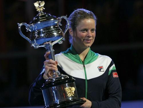 """Klijstersai pirmais """"Australian Open"""" tituls"""
