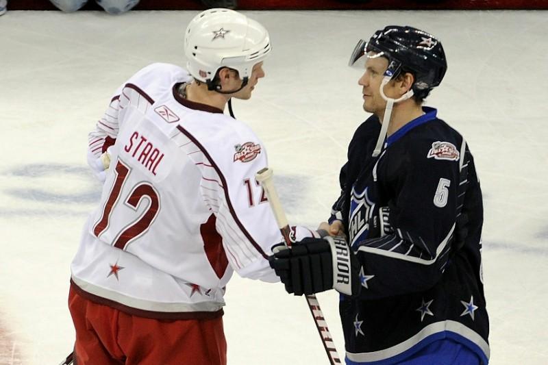 Lidstrēms un Co apspēlē Stāla komandu NHL Zvaigžņu spēlē
