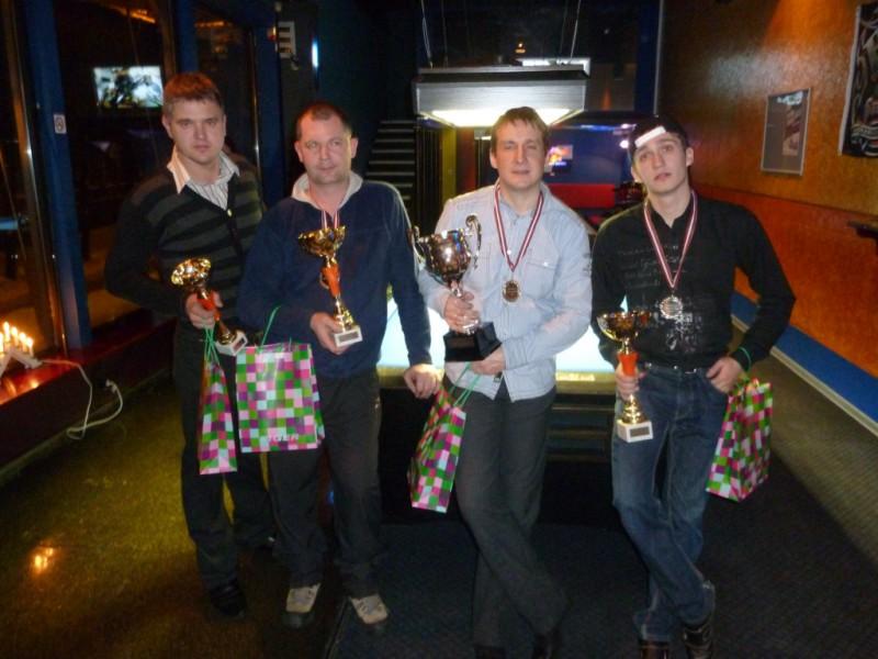 Latvijas Biljarda čempionāta POOL8 amatieru līgas otrā sezona