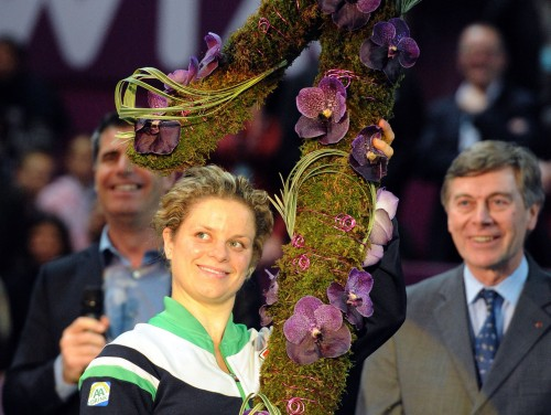 Klijstersa atgriezīsies WTA ranga līderpozīcijā